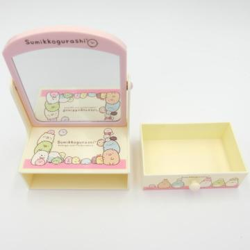 Mini toilette in plastica con cassetto