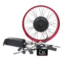 2020 new model 48v 2000w fat ebike snow electric bike hub motor conversion kit with battery