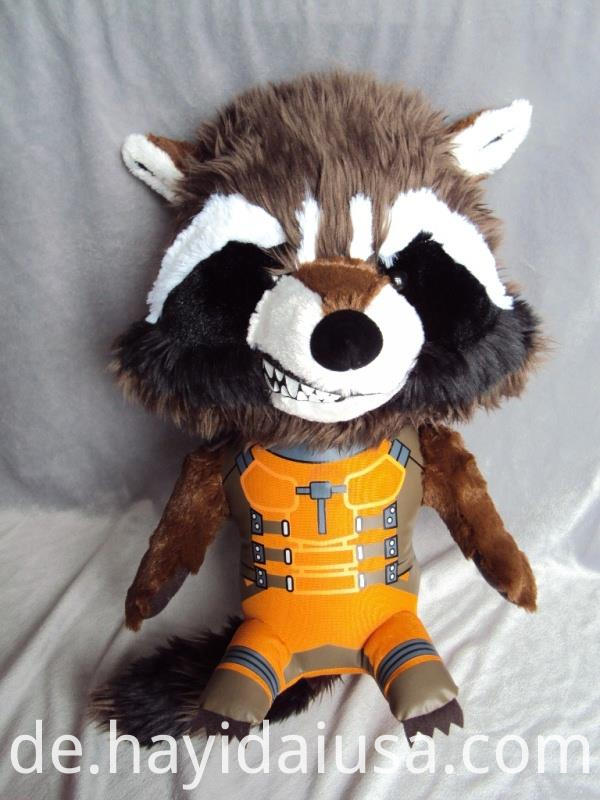 Marvel Plush Stuffed Soft Toy Rocket Raccoon35517474684