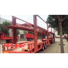 Semi-remorque de transport de véhicule long porteur de voiture
