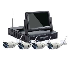 Kit inalámbrico de la cámara del wifi del kit de la cámara NVR del CCTV de 7.0 pulgadas LCD 4CH 8CH