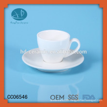 chocolate cup and saucer