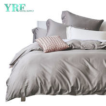 China Wholesale 4PCS Egyptian Cotton Queen Size Luxurious Gray Hotel Bedding