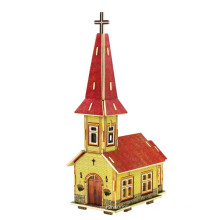 Brinquedos da madeira Collectibles para a igreja global das casas-Noruega