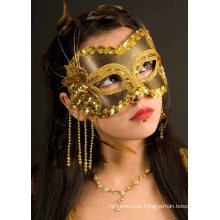 Adult Carnival Party Mask in Black/Gold Wholesale Sex Mask
