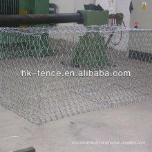 stone gabion /stone cage mesh / steel wire mesh gabion coated PVC