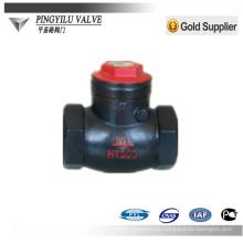 Válvula de verificação do balanço do ferro de molde usada no fornecedor da porcelana do ácido nítrico