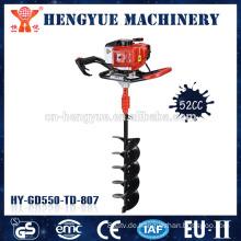 Gartenschnecke manuelle Macht Hand Post Bagger Garten Hand Werkzeuge manuelle Loch Bagger