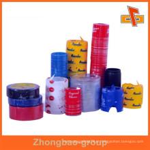 Material de PVC sensível ao calor imprimível inviolável evidente encolher bandas com o seu logotipo