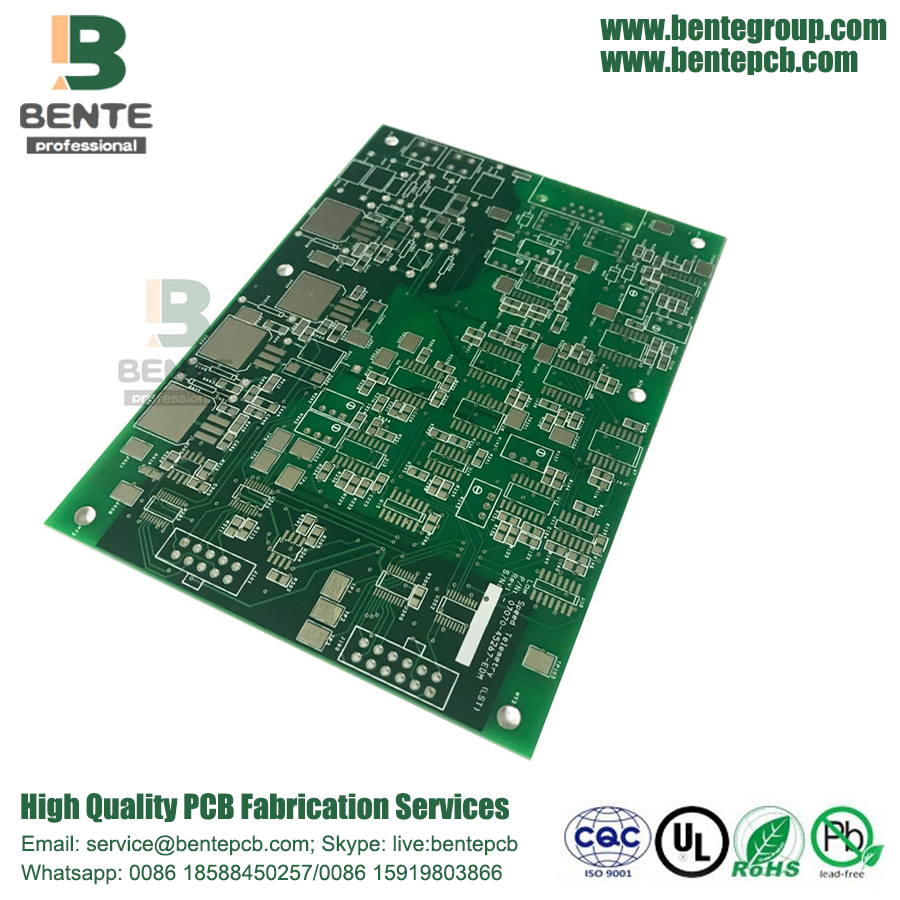FR4 Tg150 Quickturn PCB 4 capas 1 oz
