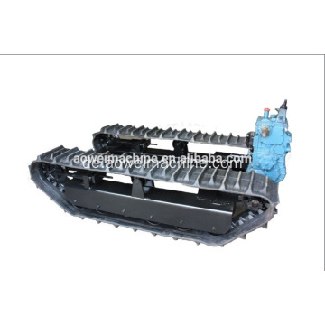 Mini Rubber Crawler Track Chassis Baumaschinen Sandstrand Agricultural Farm