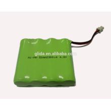 Bateria recarregável de 4,8 V Bateria para telefone sem fio