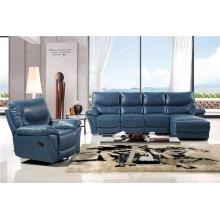 Canapé salon avec canapé moderne en cuir véritable (451)