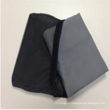 Абсорбент и быстро сухой пользовательские замши microfiber путешествия спорт пляжное полотенце с сетчатый мешок