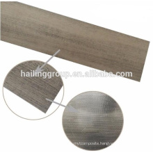 Wood grain vinyl plank flooring