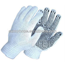 7 Gauge Palme PVC gepunktete Handschuhe