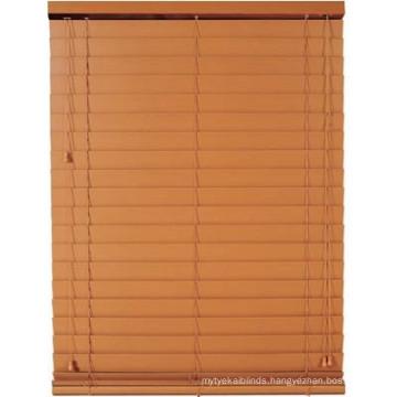 50mm UV Coated cord tilter Basswood Venetain blinds