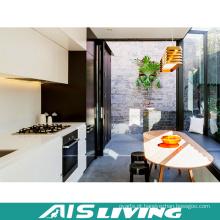 Mobília dobro dos armários de cozinha do armazenamento da cor (AIS-K971)