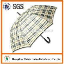 Auto Promotion droite ouverte parapluie avec bandoulière