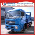 Dongfeng kingrun 8cbm capacidad de camión de basura pendular