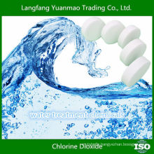 Water Treatment Chlorine Dioxide Tablets for Water Purification