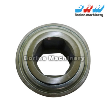 G206KPP4 Hex bore agricultural bearing with triple lip seals Relubricable