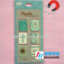 Magnetic pagemarkers --set of 6pcs
