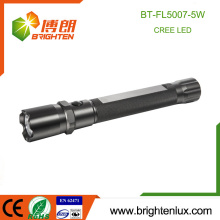 Fabriqué en usine 3C Cell Powered High Quality Metal Material Camping q5 Cree led Power Style Flashlight