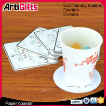 China factory cheap absorbent bar paper coasters for drinks