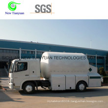 Liquid Chlorine Tanker Semi-Trailer Container for Sale