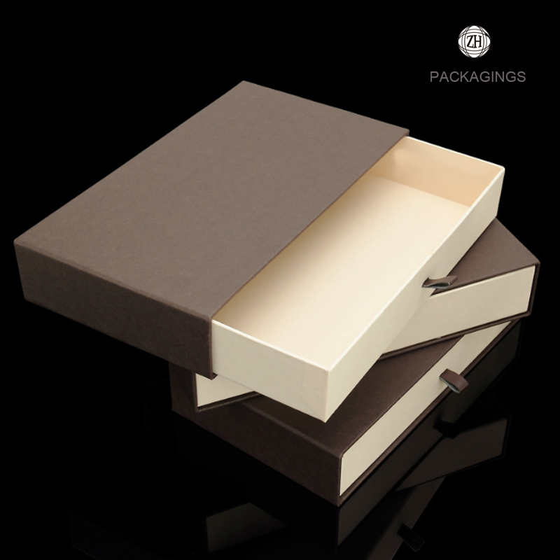 High end belt slider packaging box