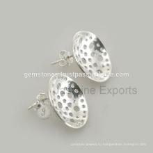 Женская Мода Серьги Серебряные Серьги Изготовление Ювелирных Изделий