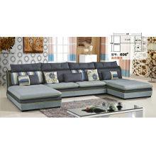 Nice Feeling U Shape Home Fabric Sofa (606)