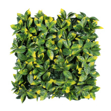outdoor boxwood artificial palm leaves plants plastic balcony screen