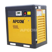 NEWS 2020 APCOM 7.5 kw 10HP 145 psi aircompressors rotary 8 bar 7.5 HP compressor 5.5 kw screw air compressors
