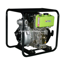 4-stroke Air-cooled Diesel Pump, 2 inches High-pressure Agricultural irrigation Pump, Portable Model