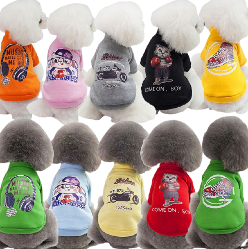 Cotton Pet Clothing