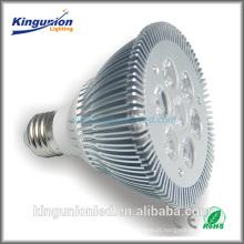 Projetor de alumínio ABS 3W / 4W / 5W / 6W / 7W 95lm / W