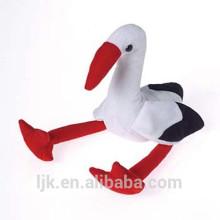 30cm weißer Plüsch Storch