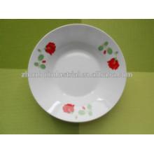 Plato de sopa y plato de frutas para placas de cerámica personalizadas