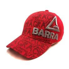 factory supply print/embroidery logo elastic fitted baseball cap