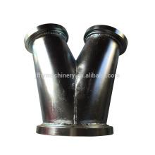 Fabricación de chapa de acero inoxidable con soldadura y plegado.