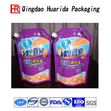 Factory Price Hot Sealing Plastic Liquid Spout Bag