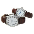 Nouvelle montre en acier inoxydable de mode de quartz de style pour des amants Hl-Bg-106