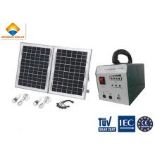 10W poderoso sistema de energía solar fotovoltaica para el hogar