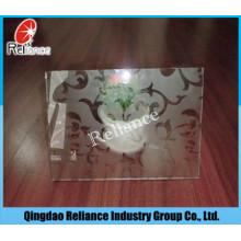 4mm / 5mm / 6mm Säure entworfenes Glas / Säure geätztes Glas / Säure verarbeitetes Glas