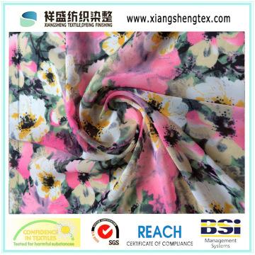 Compsite Filament Printing Crepe Chiffon Stoff für Kleidungsstück