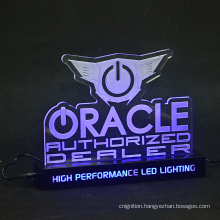 Acrylic Neon Custom Board Holder Light  Indoor Edge Lit Base Laser Engraving LED Sign