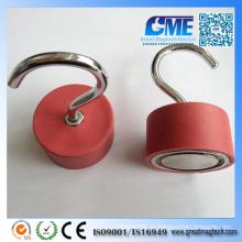Gummi beschichtet D45X25mm Neodym-Topf-Magnet