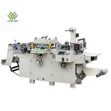 Máquina troqueladora plana de etiquetas de alta velocidad